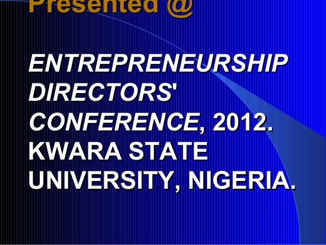 How Universities Should Teach Entrepreneurship Slide 3