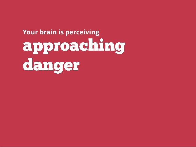 Your brain is perceiving