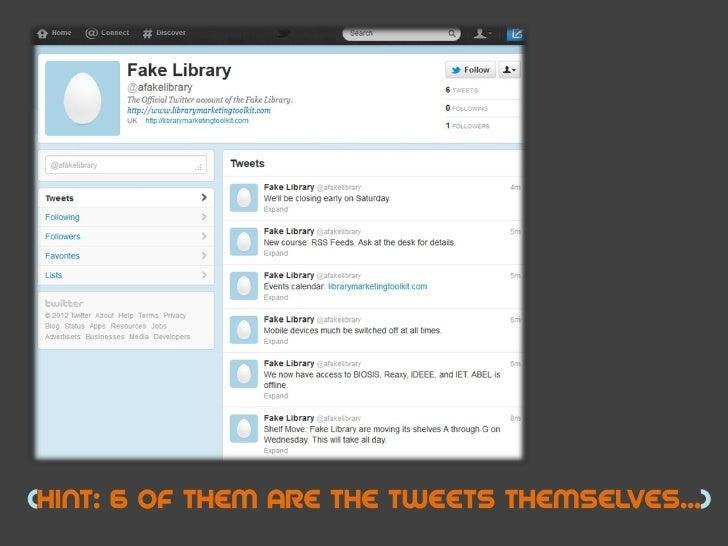 How not to tweet