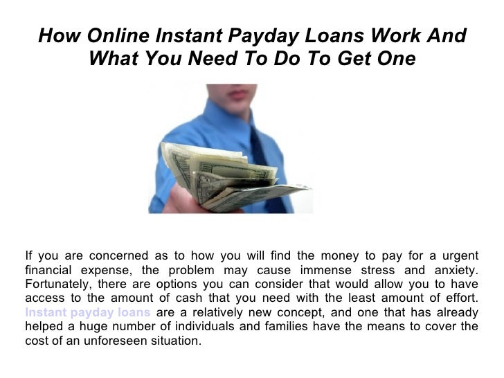 How Online Payday Loans Work