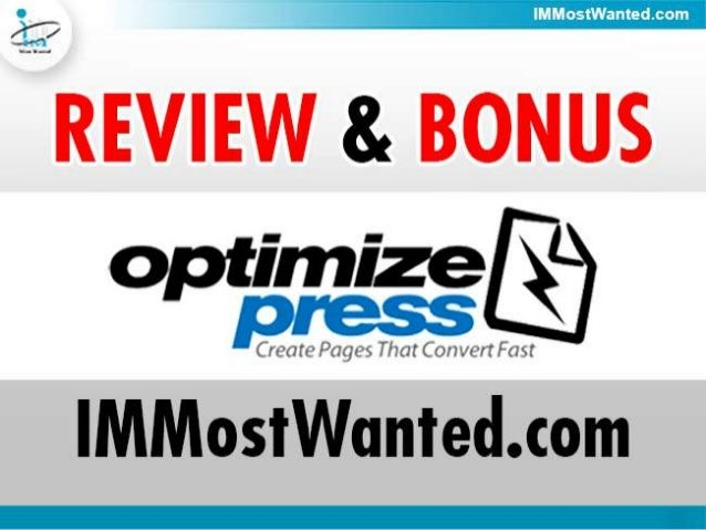 How OptimizePress Can Help You With YourOnline BusinessWordPress has become one of the most popular platformchoices for bl...
