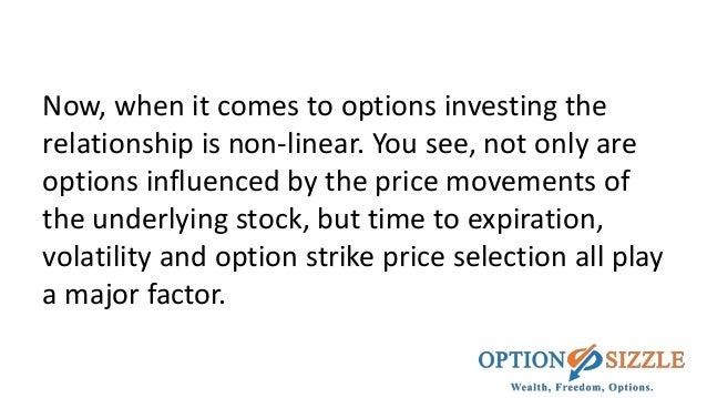 Stock options strike price example