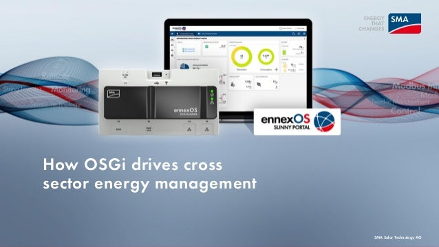 How OSGi drives cross sector energy management SMA Solar Technology AG