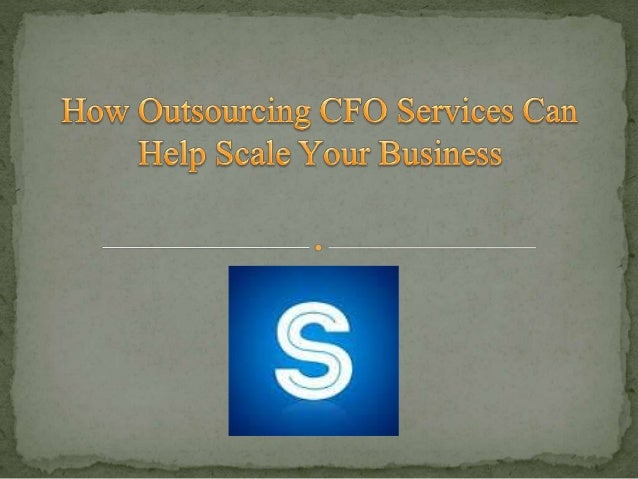 Outsourcing CFO services is a growing trend. Definitive statistics on the use of outsourced CFOs are hard to come by espec...