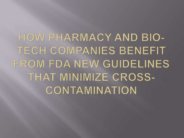   FDA report: Pharmaceutical Quality for the    21st Century: A Risk-Based Approach   Recommends Quality-by-design for ...