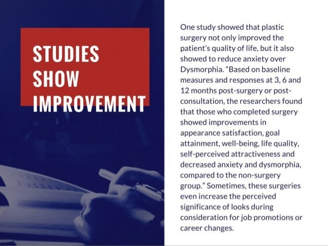 How Plastic Surgery Improves the Lives of Patients
