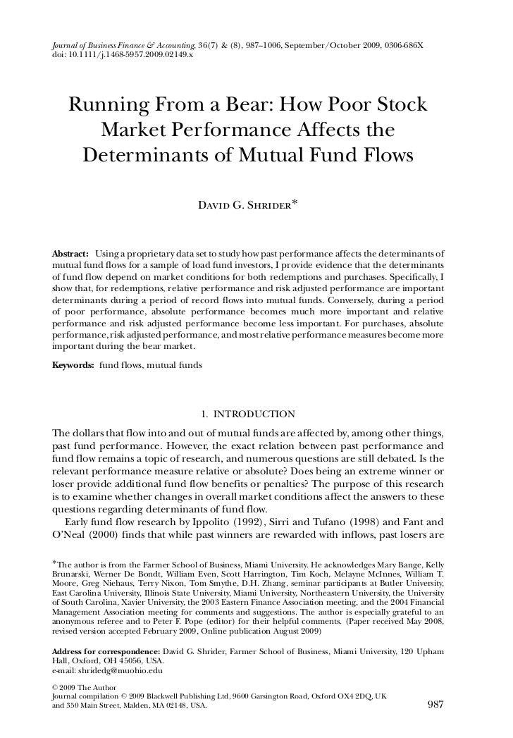 Journal of Business Finance & Accounting, 36(7) & (8), 987–1006, September/October 2009, 0306-686Xdoi: 10.1111/j.1468-5957...