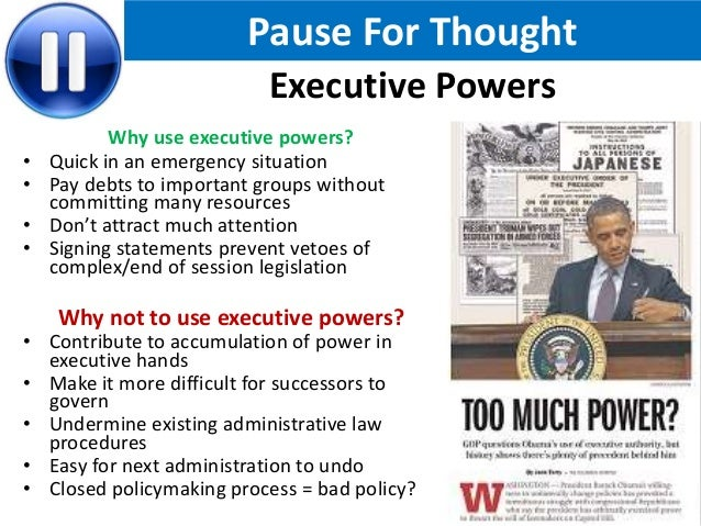 How Powerful Is The Us President