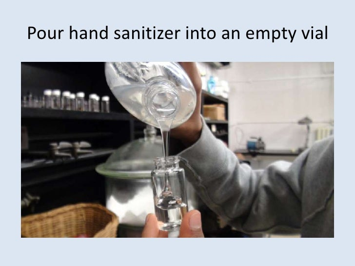 How to preserve and display insect specimens in hand sanitizer Slide 3