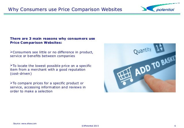 Top five comparison websites how to find the best deal