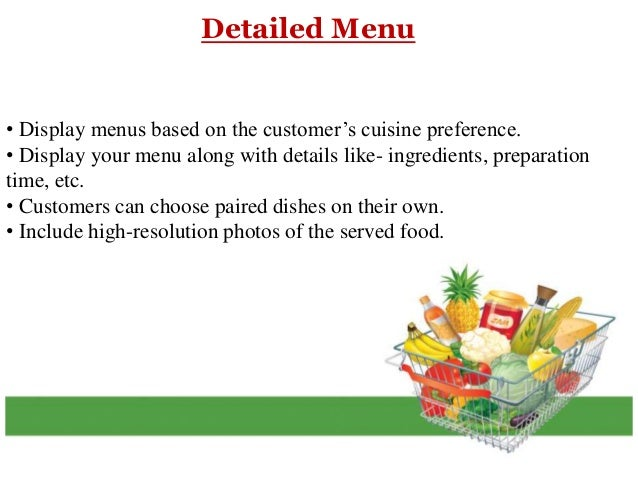 How Putting Your Menu Online Will Fetch You More Customers? Slide 3