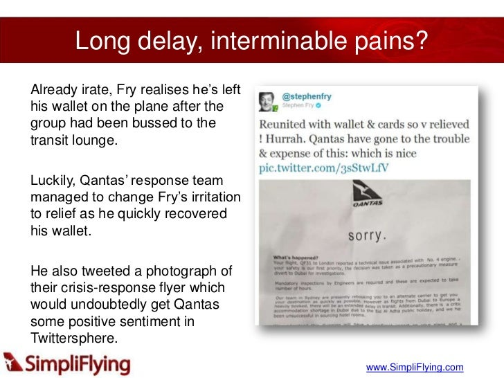 Qantas Airlines: Twitter Nosedive Harvard Case Solution & Analysis