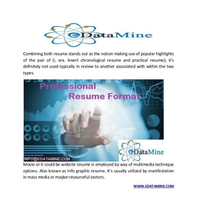COM; 5. Combining Both Resume ...