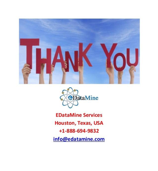 COM; 9. EDataMine Services Houston ...