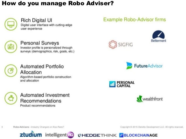 how to build a robo advisor
