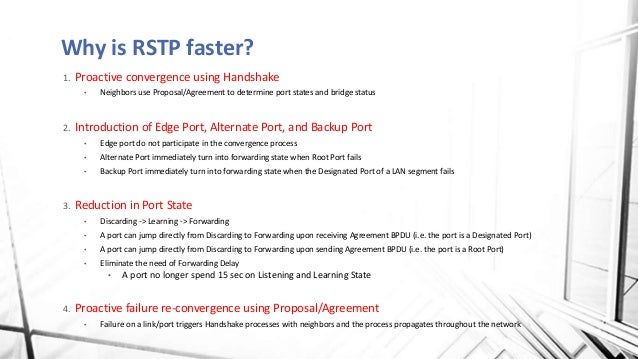 How Stp And Rstp Works
