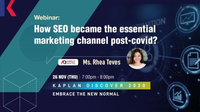 SEO AND HOW IT BECAME THE ESSENTIAL DIGITAL MARKETING CHANNEL POST-COVID