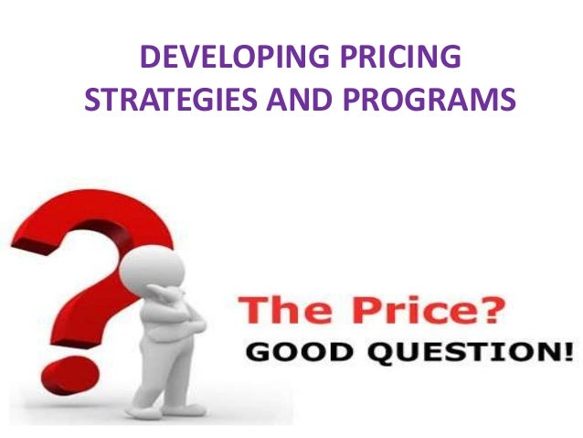 setting product or service prices Free essay: setting a price for a service or product can be very difficult patients are now checking to see prices on certain non-emergent services before.