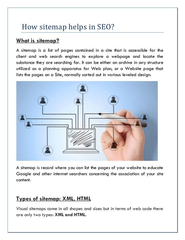how sitemap helps in seo