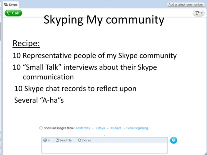 How Skype Is Re Shaping Interpersonal Communication