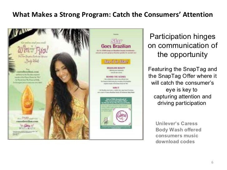 What Makes a Strong Program: Catch the Consumers' Attention  Participation hinges on communication of the opportunity Feat...