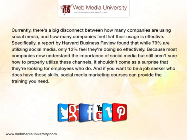 How Social Media Certification Can Give You An Edge in the Job Market Slide 2