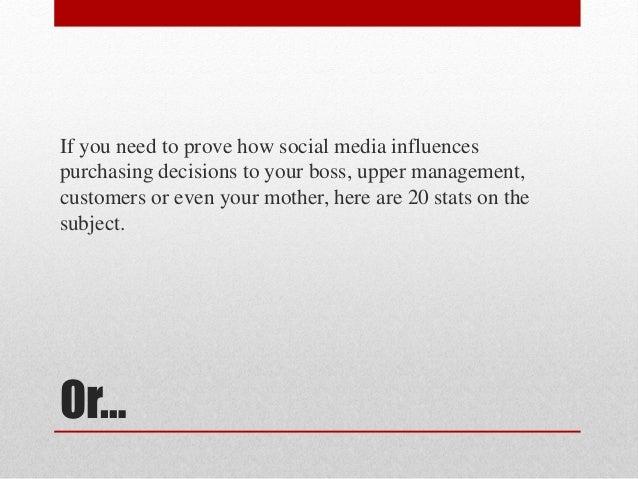 How social media influences purchasing decisions Slide 2