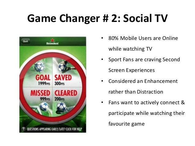 Doing the Nation Proud Sports Marketing Social Heineken Star Player