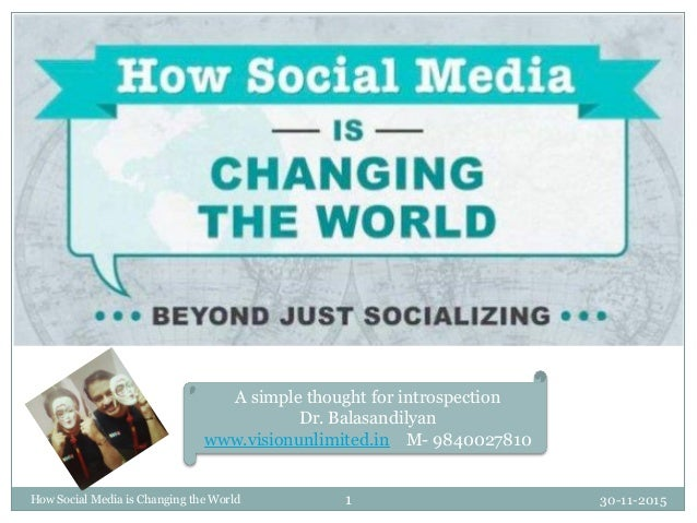 The social changing world