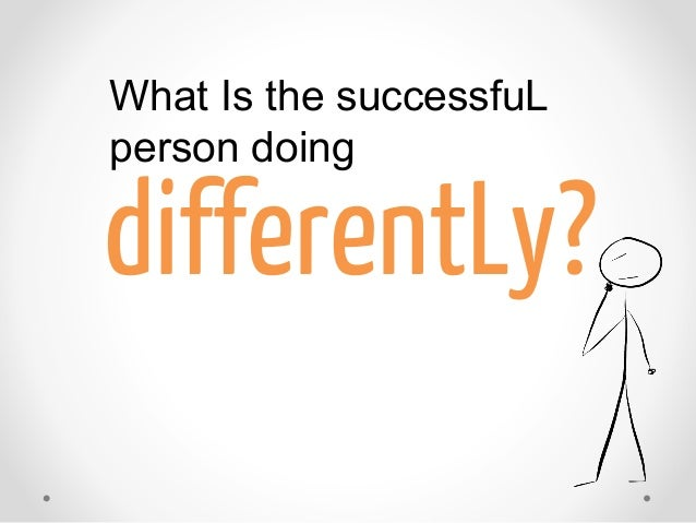 How Successful People Think Differently   Successful People Book Slide 3