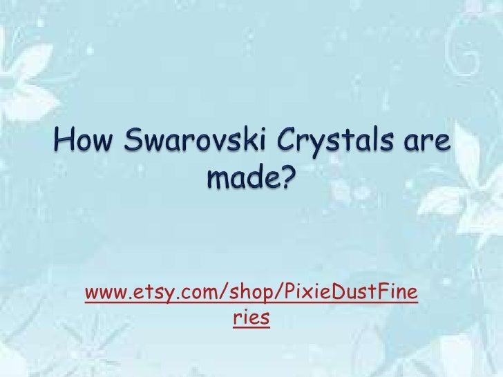 www.etsy.com/shop/PixieDustFine             ries