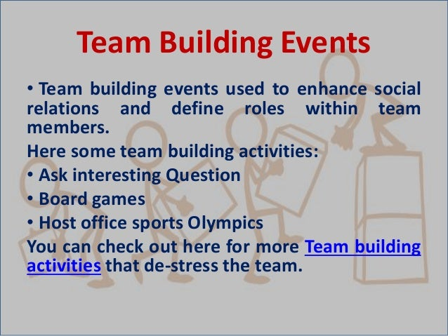 How Team Building Events Assist a Corporate Team