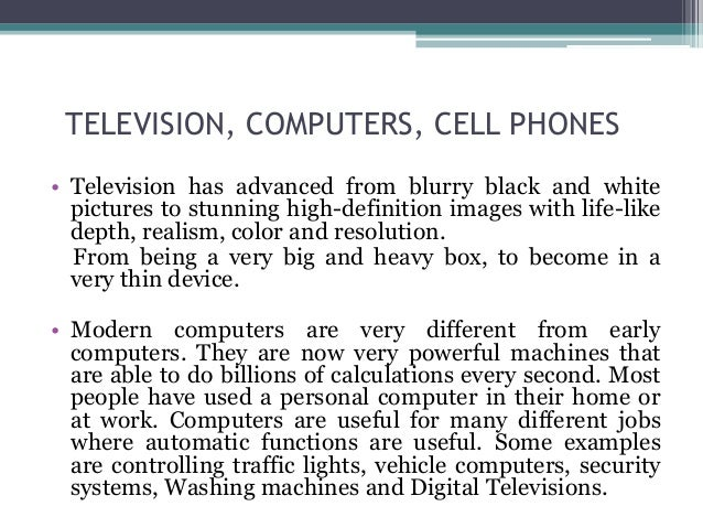 how does technology affect our lives essay How does media affect our lives media plays very a important role and has influence in virtually every aspect of our lives  technology universe useful links.