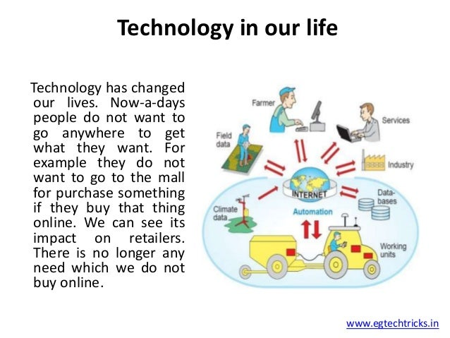 technology and our lives Read on for the many ways technology helps families to streamline activities, save time and organize schedules.