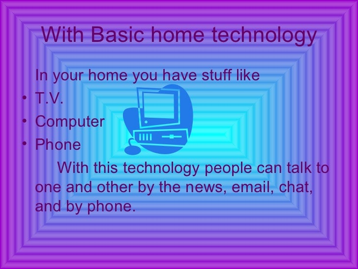 how technology impacts your life Information technology and moral values  if you load all the photographs of your life to a service like flickr and they were to somehow lose or delete them, this .