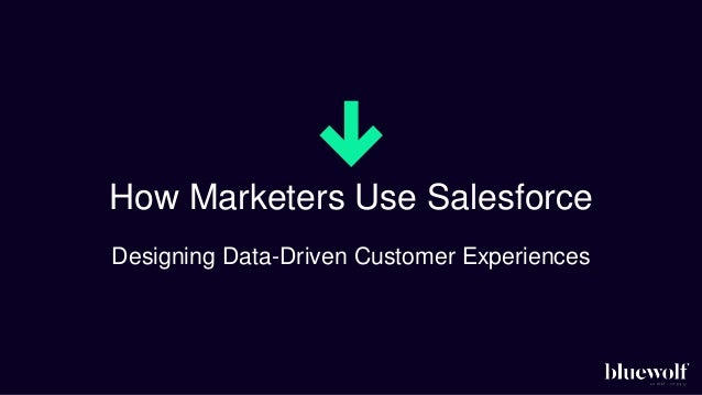 How the Best Marketers Use Salesforce Data