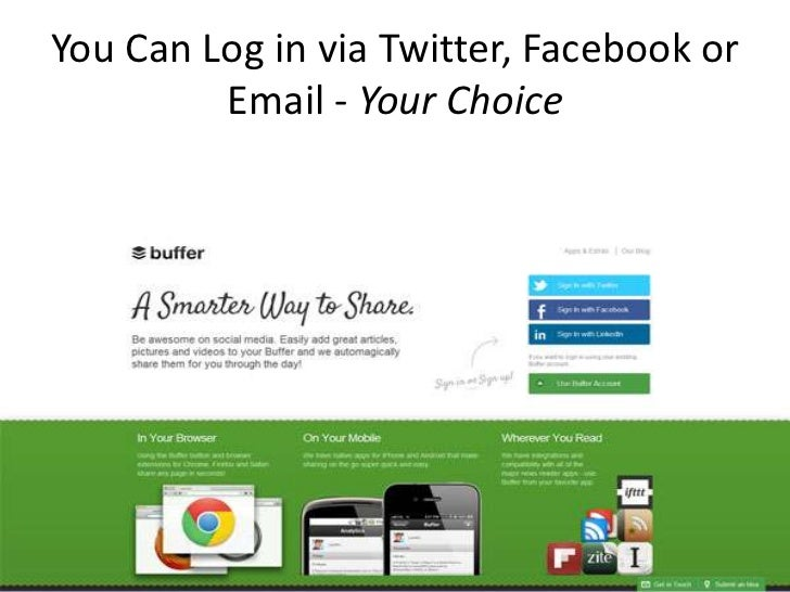 How The Buffer App Can Help You On Social Media Slide 2