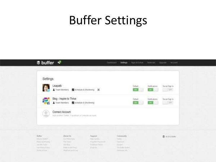 How The Buffer App Can Help You On Social Media Slide 3