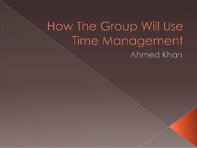 Where going too break down our timemanagement into six different slots:-   Effective Planning-   Setting goals and objecti...