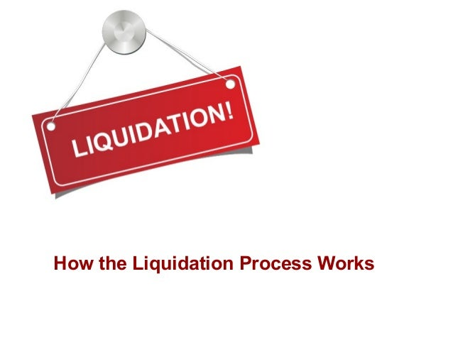 How the Liquidation Process Works