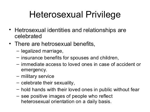 What is a hetro sexual