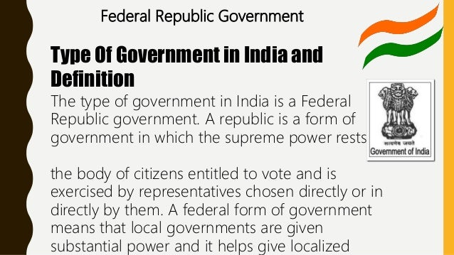 How the political system works in india