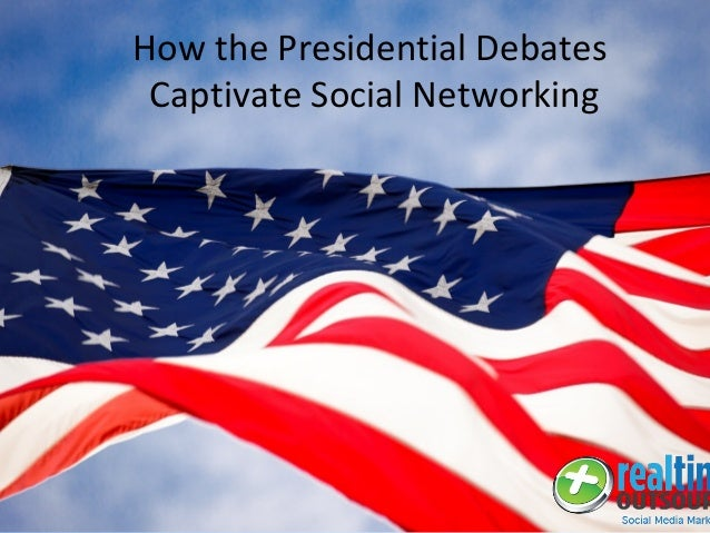 How the Presidential Debates Captivate Social Networking