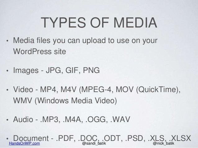 How The WordPress Media Library Works - 2018 Slide 3