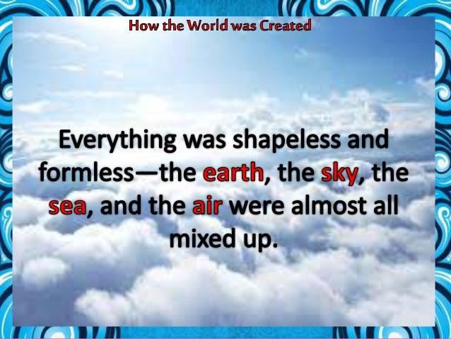 How the World was Created ( Panayan )