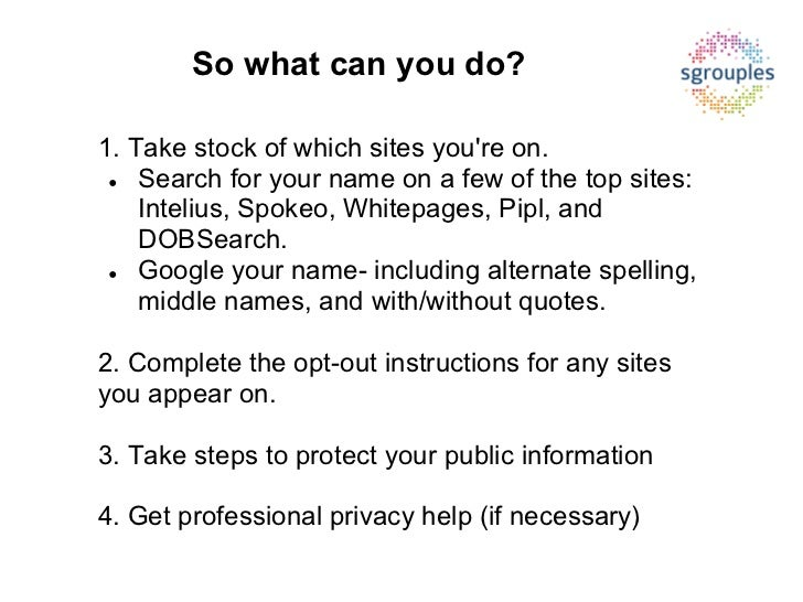 How To Delete Your Personal Information From Background