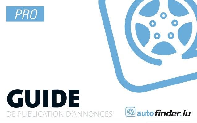 1 PROguidede publication d'annonces       guide de publication d'annonces