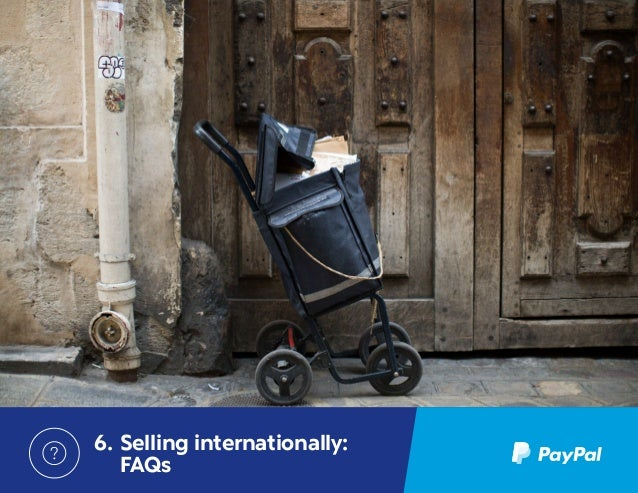 how to pay internationally with paypal