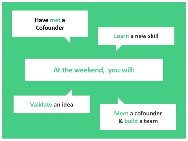 HowTo Startup Weekend? Slide 3