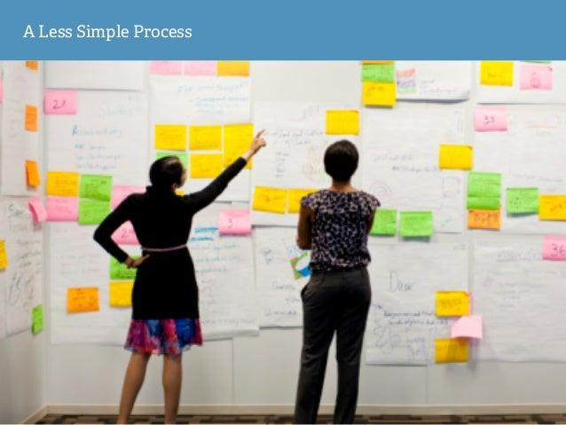 A Less Simple Process